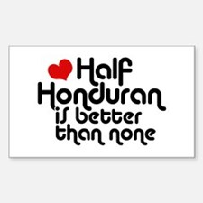 Half Honduran Decal