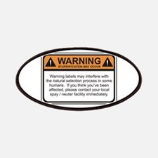 Warning Label Patches