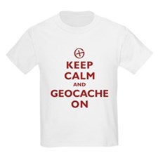 Keep Calm and Geocache On T-Shirt