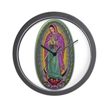 15 Lady of Guadalupe Wall Clock
