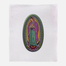 15 Lady of Guadalupe Throw Blanket