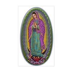 15 Lady of Guadalupe Sticker (Rectangle)