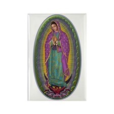 15 Lady of Guadalupe Rectangle Magnet