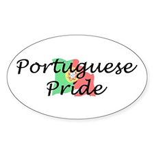 Portuguese Pride Oval Decal