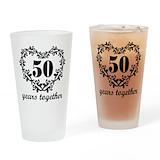 50th anniversary Pint Glasses