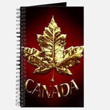 Gold Canada Souvenir Journal