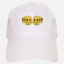 Stay Gold Knuckles Baseball Baseball Cap