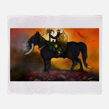Beast Rider Throw Blanket