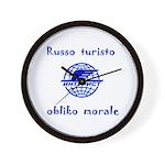 Russo turisto obliko morale!