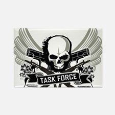 Modern Task Force Warfare Rectangle Magnet