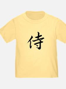 Samurai Kanji T