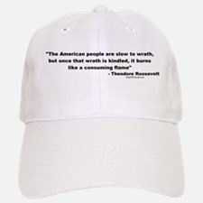 Roosevelt: The American people Baseball Baseball Cap