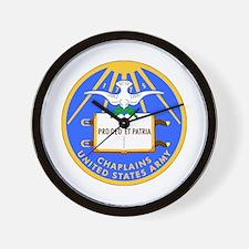 usa army chaplain Wall Clock