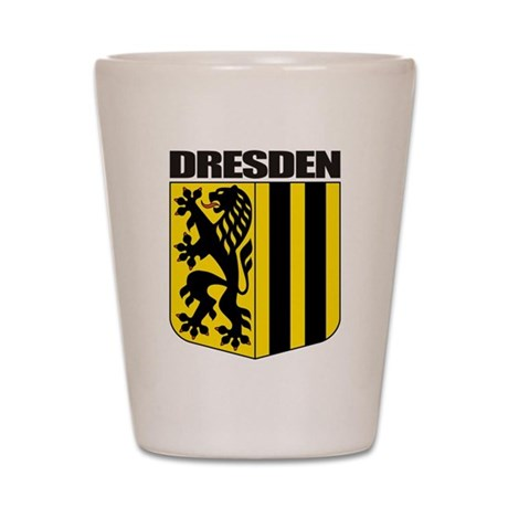 Dresden Shot Glass