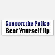 Support the Police Bumper Bumper Bumper Sticker