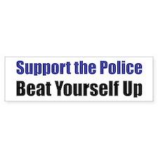 Support the Police Bumper Bumper Sticker