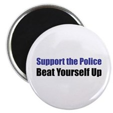 "Support the Police 2.25"" Magnet (10 pack)"