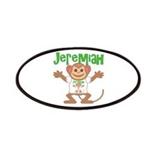 Little Monkey Jeremiah Patches