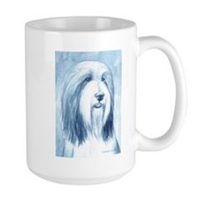 Cute Bearded collie Mug