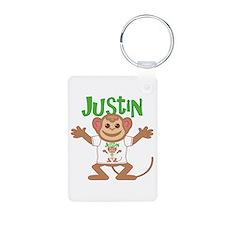 Little Monkey Justin Keychains