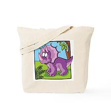 Cute Triceratops Tote Bag