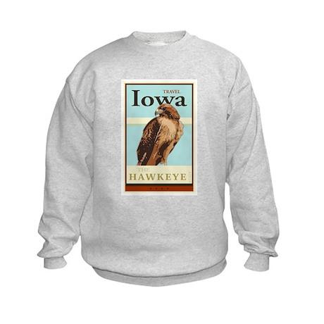 Travel Iowa Kids Sweatshirt