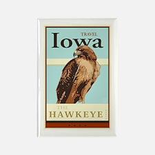 Travel Iowa Rectangle Magnet