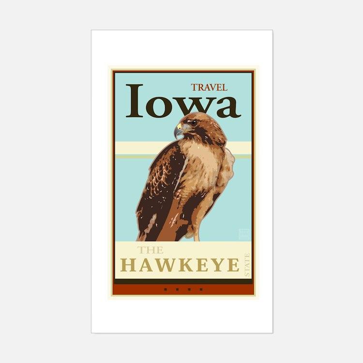 Travel Iowa Decal