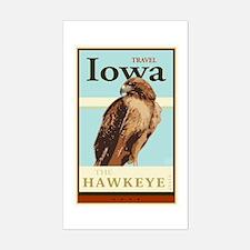 Travel Iowa Sticker (Rectangle)