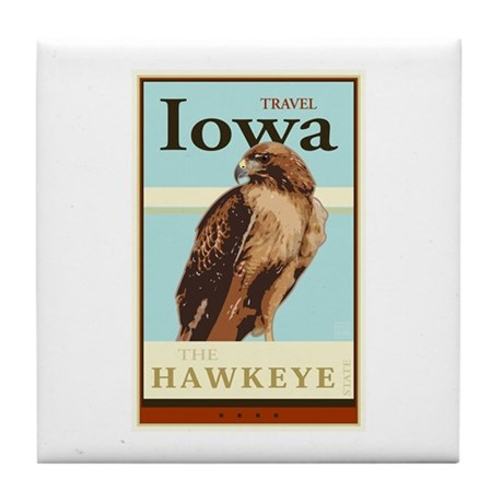 Travel Iowa Tile Coaster