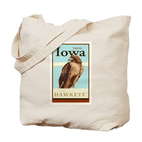 Travel Iowa Tote Bag
