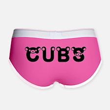 Cubs Font - Women's Cubs Boy Brief