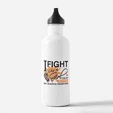 Fight Like a Girl Leukemia Water Bottle