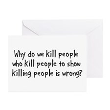 Why Do We Kill Greeting Cards (Pk of 10)