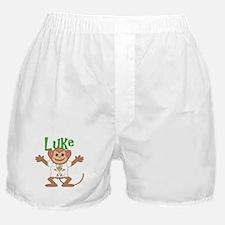 Little Monkey Luke Boxer Shorts