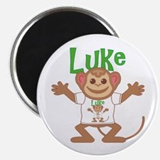 Little Monkey Luke Magnet