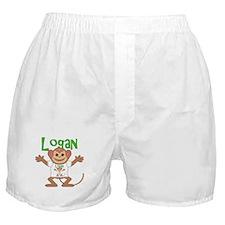 Little Monkey Logan Boxer Shorts