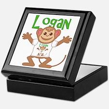Little Monkey Logan Keepsake Box
