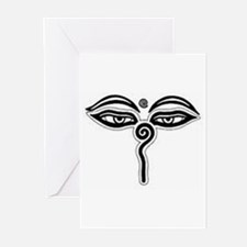 Buddha's Eyes Greeting Cards (Pk of 10)