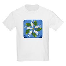 Kakapo Heron Swirl T-Shirt
