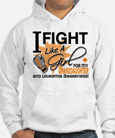 Fight Like a Girl Leukemia Hoodie