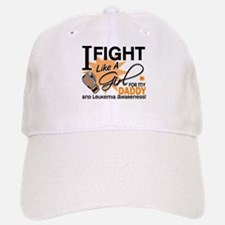 Fight Like a Girl Leukemia Baseball Baseball Cap