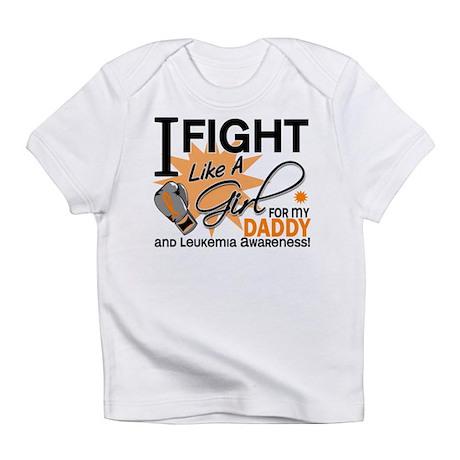 Fight Like a Girl Leukemia Infant T-Shirt