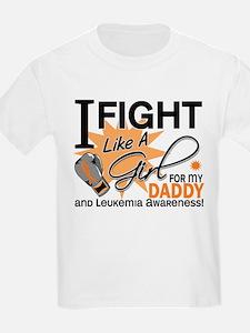 Fight Like a Girl Leukemia T-Shirt