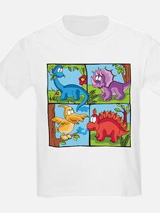 Dino Friends Kids T-Shirt