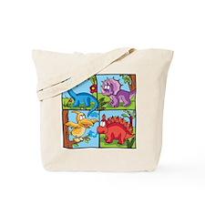 Dino Friends Tote Bag