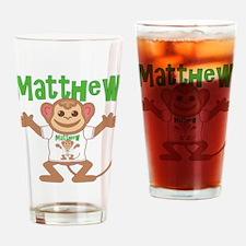 Little Monkey Matthew Drinking Glass