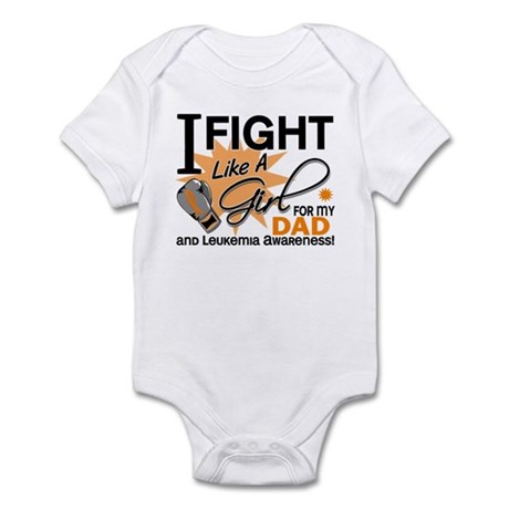 Fight Like a Girl Leukemia Infant Bodysuit