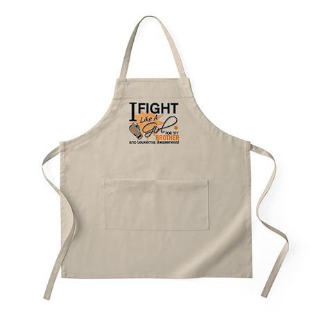 Fight Like a Girl Leukemia Apron