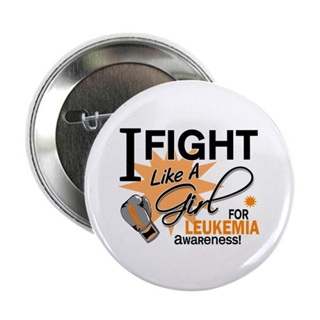 "Fight Like a Girl Leukemia 2.25"" Button (10 pack)"